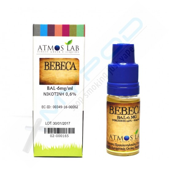 Atmos Lab - Ready to vape Bebeca Balanced 10ml