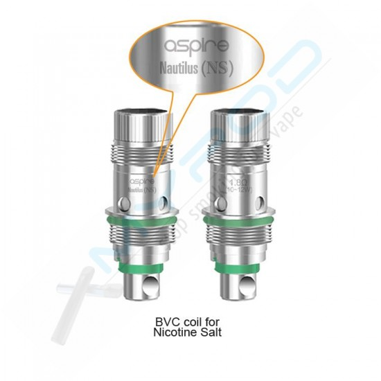 Aspire  Nautilus AIO Nic Salt Clearomizer head